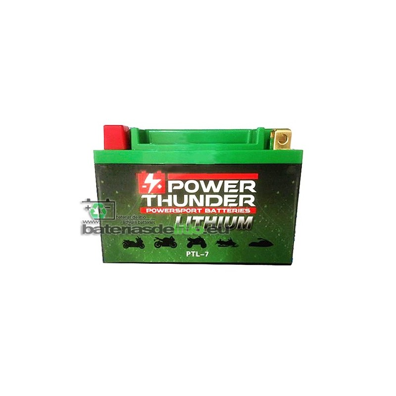 Bateria de Litio PTL-7 Power Thunder