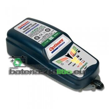 Cargador y mantenedor de baterias de litio OPTIMATE LITIO TM290 5A