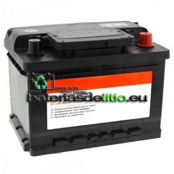 Bateria coche 12v 63Ah Calcio-Plata. Nanotecnología