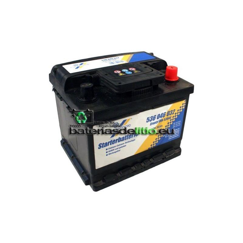 Bateria coche 12v 36Ah DIN 53646