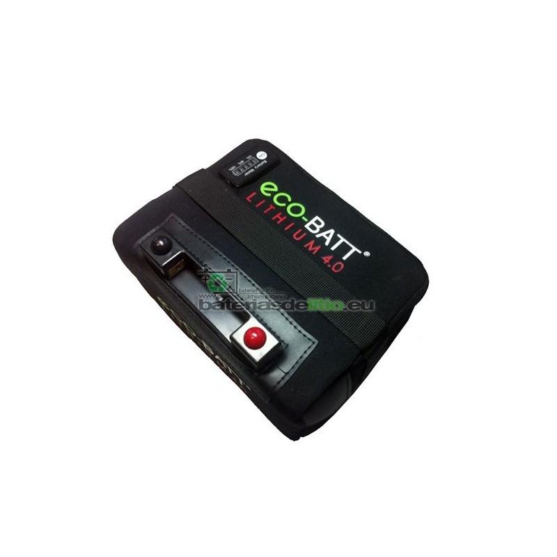 Bateria de Litio Carro de Golf 36 Hoyos 12V22AH5ALED con Indicador de Carga LED