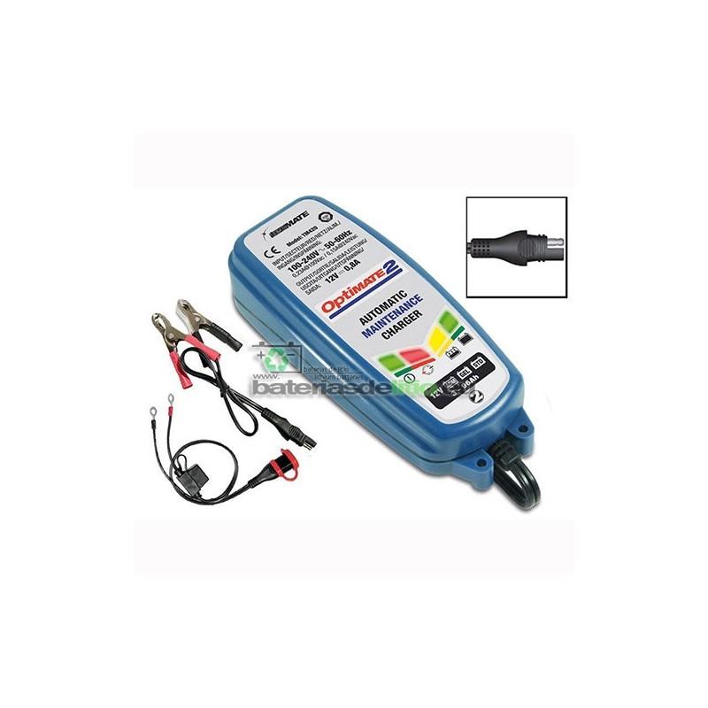 Cargador - Mantenedor de Bateria OPTIMATE 2 TM-420