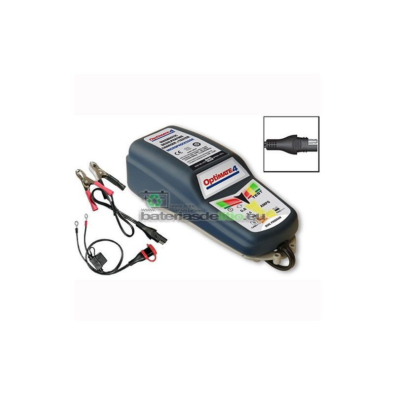 Cargador - Mantenedor de Batería OPTIMATE 4 DUAL