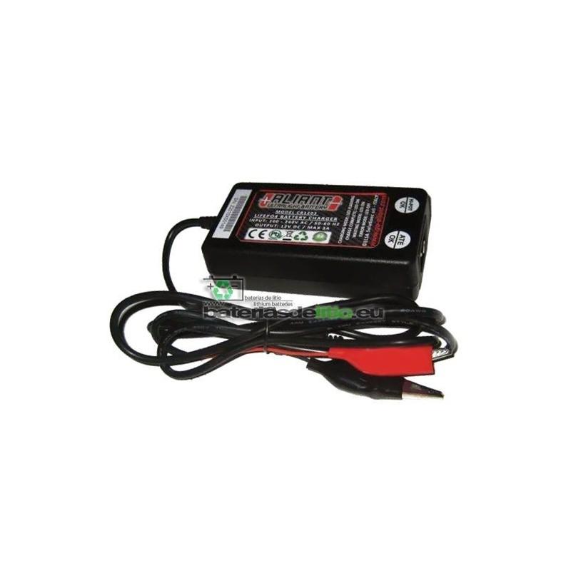 Cargador/Mantenedor de baterías de litio ALIANT 3A