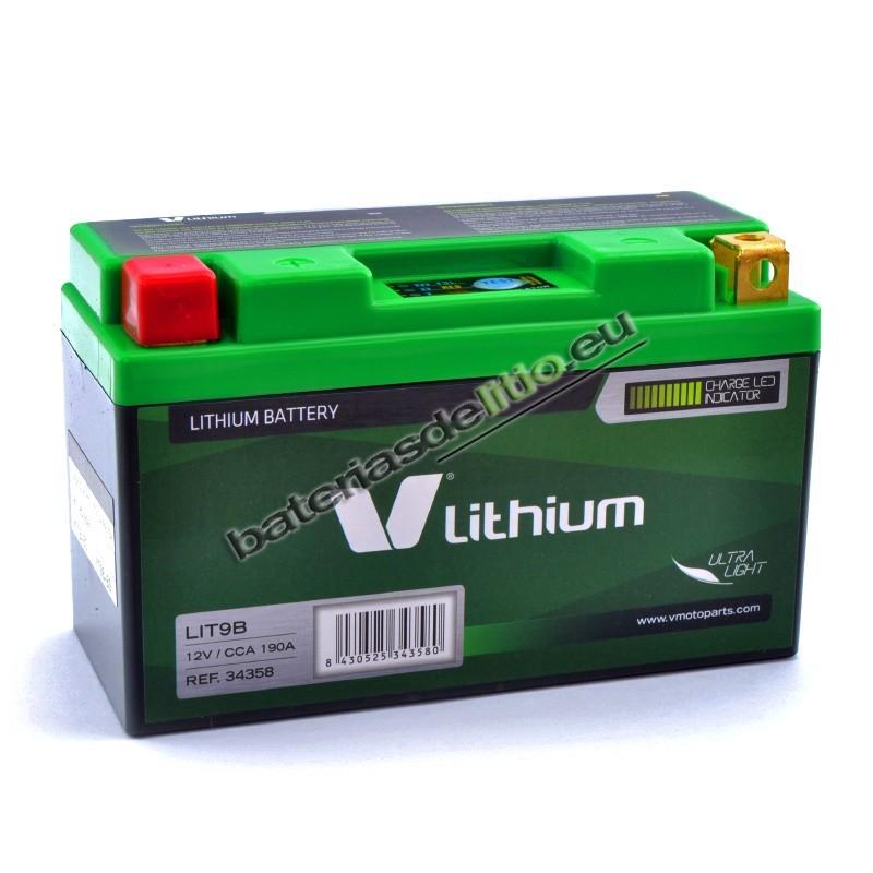 Bateria de litio V LITHIUM LIT9B