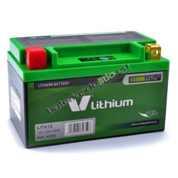 Bateria de litio V LITHIUM LITX12