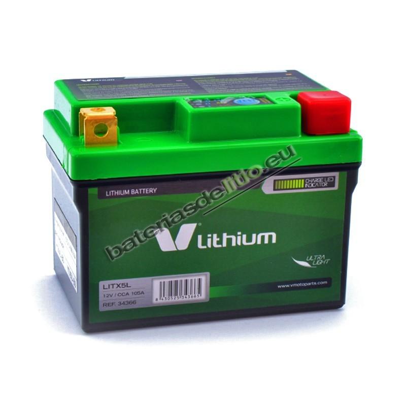 ateria de litio V LITHIUM LITX5