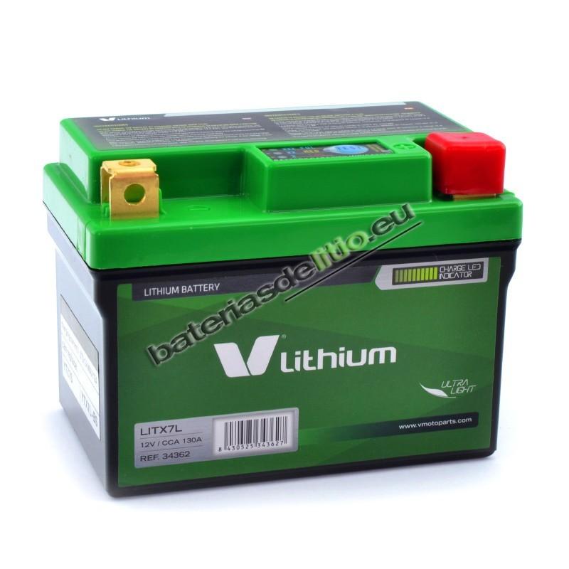 Bateria de litio V LITHIUM LITX7L
