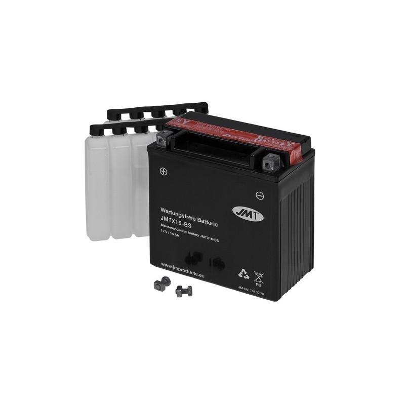 Bateria YTX16-BS sin mantenimiento