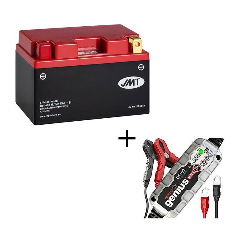 Bateria de litio YTZ14S + Cargador LITIO
