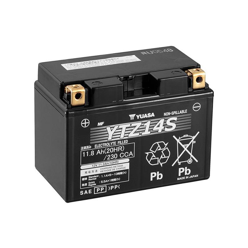 Bateria YTZ14S Yuasa MF AGM