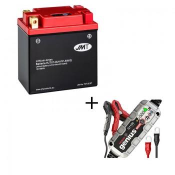Bateria de litio YTX14AH-BS + Cargador NOCO Litio