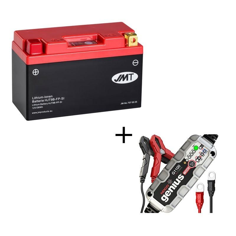 Bateria de litio YT9B-BS + Cargador LITIO