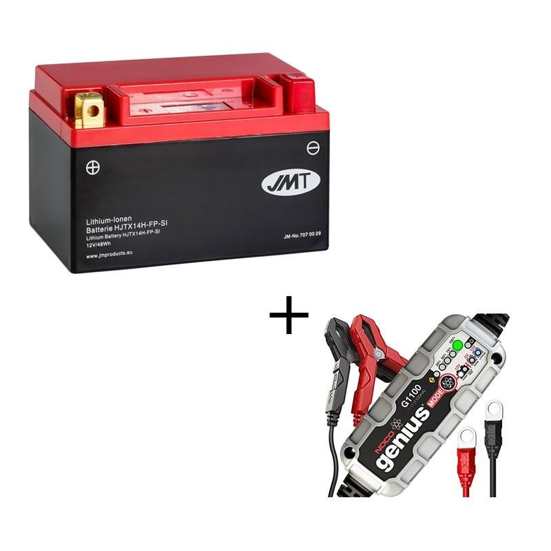 Bateria de litio YTZ10S + Cargador NOCO Litio