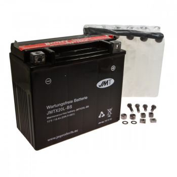 Batería YTX20L-BS sin mantenimiento (JTMX20L-BS)