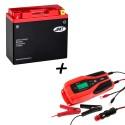 Bateria de litio YT12B-BS + Cargador JMP SKAN 4.0 Litio