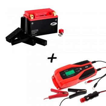Bateria de litio YTX20CH-BS + Cargador JMP SKAN 4.0 Litio