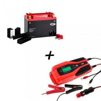 Bateria de litio YTX20H-BS + Cargador JMP SKAN 4.0 Litio