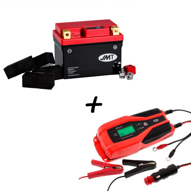 Bateria de litio YTZ7S + Cargador JMP SKAN 4.0 Litio