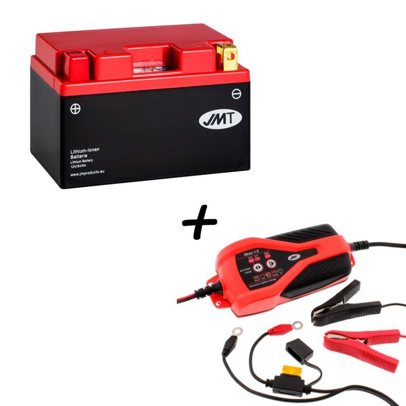 Bateria de litio YTZ14S + Cargador JMP SKAN 1.0 Litio