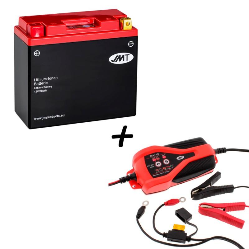 Bateria de litio YT12B-BS + Cargador JMP SKAN 1.0 Litio