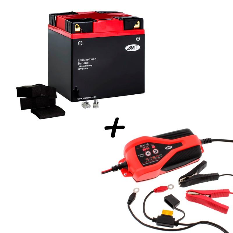 Bateria de litio YIX30L-BS + Cargador JMP SKAN 1.0 Litio