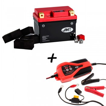 Bateria de litio YTZ7S + Cargador JMP SKAN 1.0 Litio