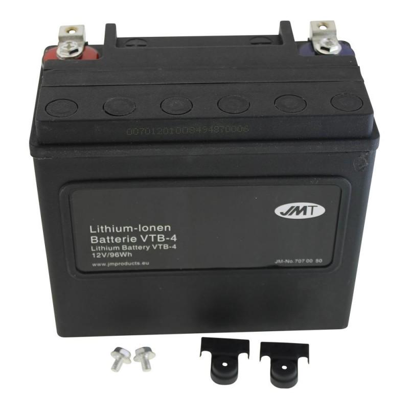 Bateria Harley Davidson BTL-4 Litihium 65989-90B Litio
