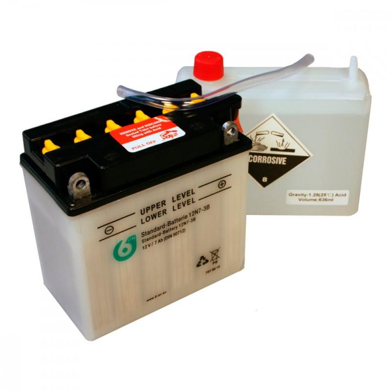 Bateria 12N7-3B 6-ON