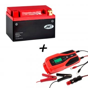 Bateria de litio YTX12-BS + Cargador JMP SKAN 4.0 Litio