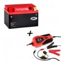 Bateria de litio YTX12-BS + Cargador JMP SKAN 1.0 Litio