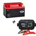 Bateria de litio YTX14-BS + Cargador GENIUS5 Litio
