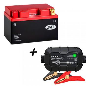 Bateria de litio YTZ14S + Cargador GENIUS5 Litio