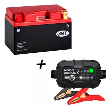 Bateria de litio YTZ14S + Cargador GENIUS2 Litio