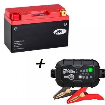 Bateria de litio HJT9B-FP + Cargador GENIUS2 Litio