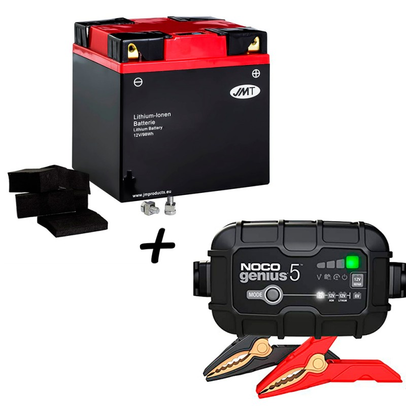 Bateria de litio YIX30L-BS + Cargador GENIUS5 Litio