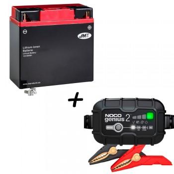 Bateria de litio 51913 + Cargador GENIUS2 Litio