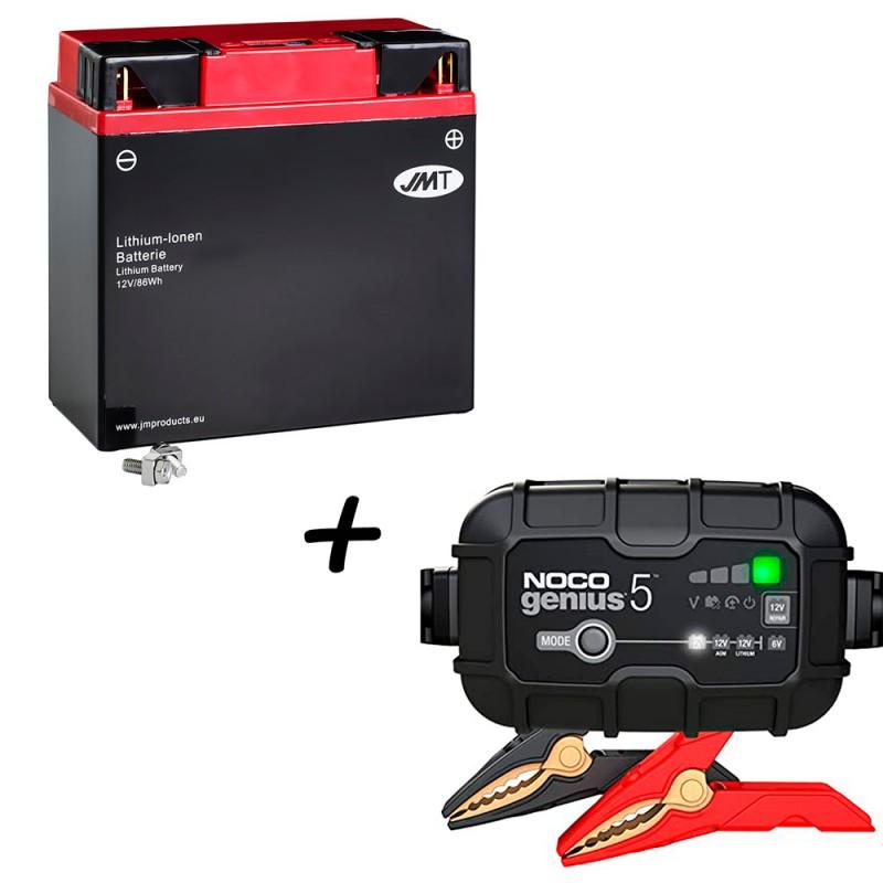 Bateria de litio 51913 + Cargador GENIUS5 Litio