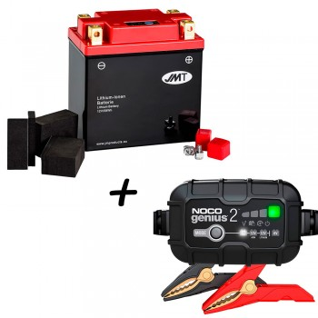 Bateria de litio YTX14AH-BS + Cargador GENIUS2 Litio