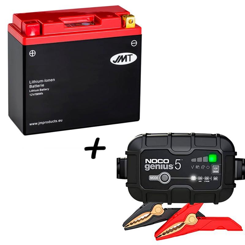 Bateria de litio YT12B-BS + Cargador GENIUS5 Litio