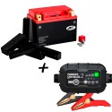 Bateria de litio YTX20CH-BS + Cargador GENIUS2 Litio