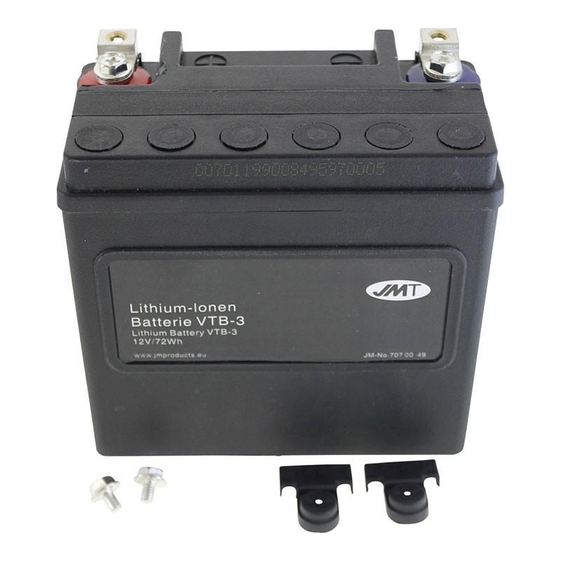 Bateria Harley Davidson BTL-3 Lithium 65958-04A Litio