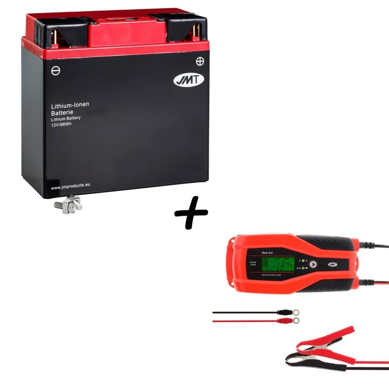 Bateria de litio HJ51913-FP + Cargador JMP SKAN 8.0 Litio