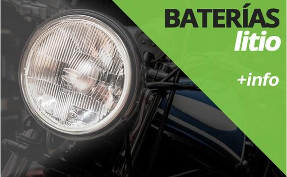 Información técnica acerca de las baterías de litio para moto